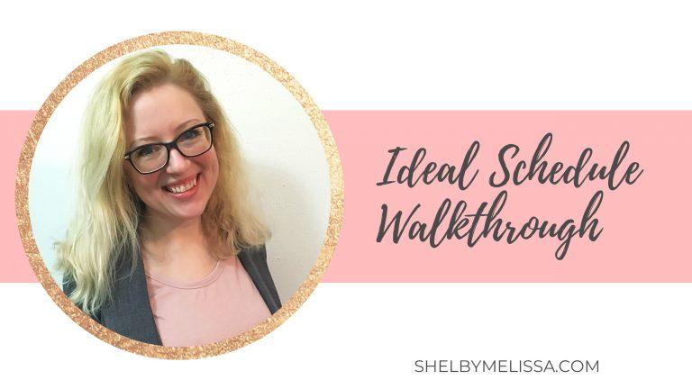 Ideal Schedule Walkthrough thumbnail